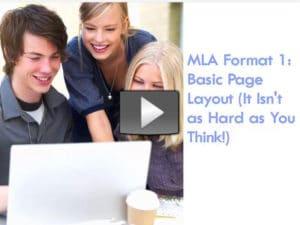 MLA Format 1 Link
